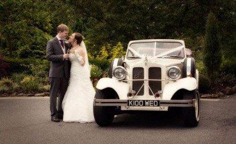 Elanor with Mr & Mrs Herbert at Breadsall Priory