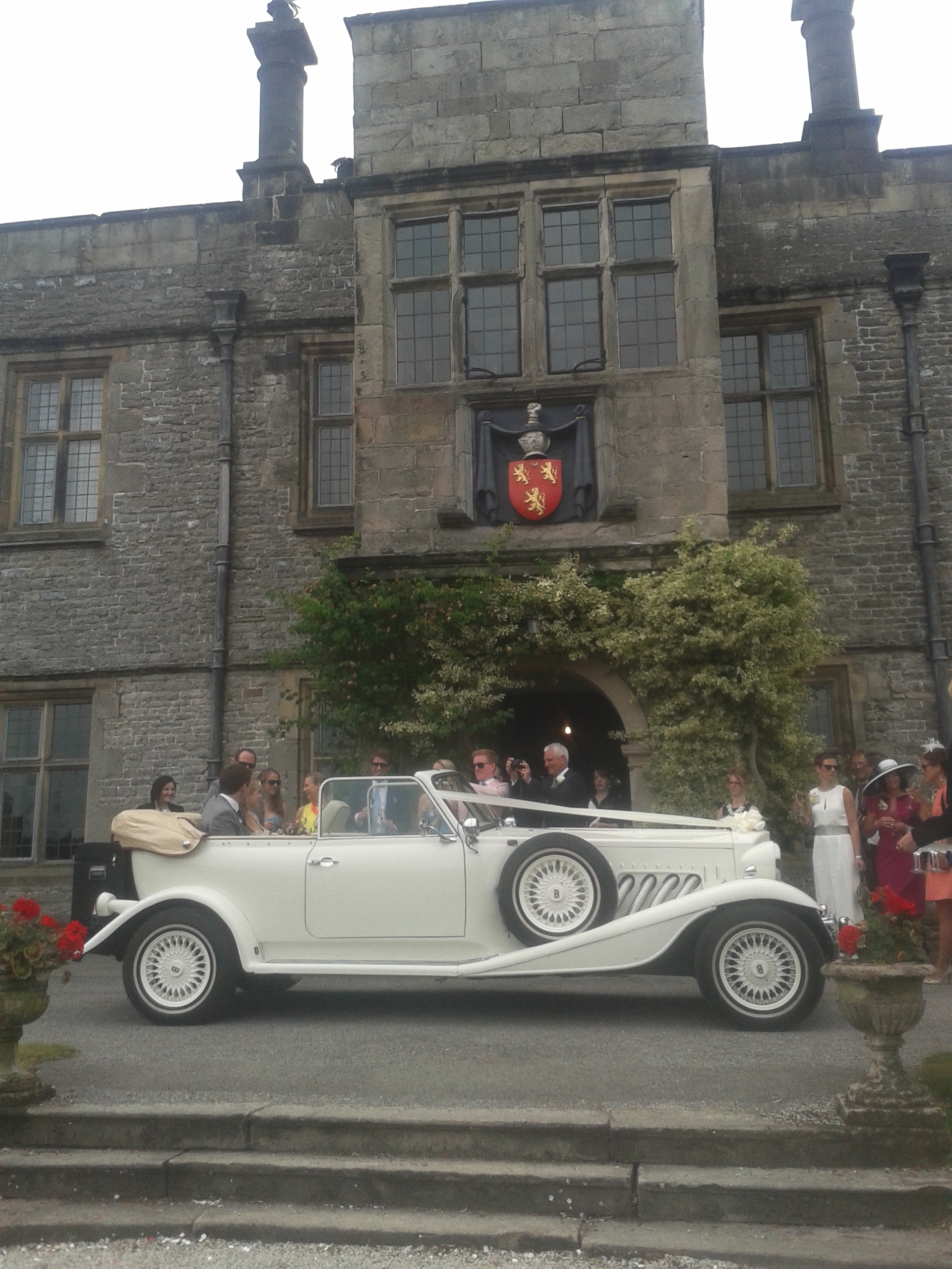 Bonnie At Tissington Hall